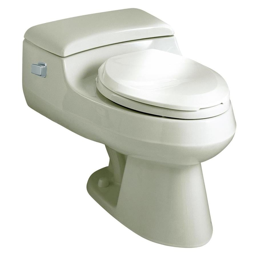 Shop KOHLER San Raphael Biscuit 1.0-GPF (3.79-LPF) 12 Rough-In ...