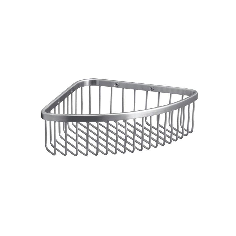 KOHLER 3-in H Screw Mount Stainless Steel Hanging Shower Caddy