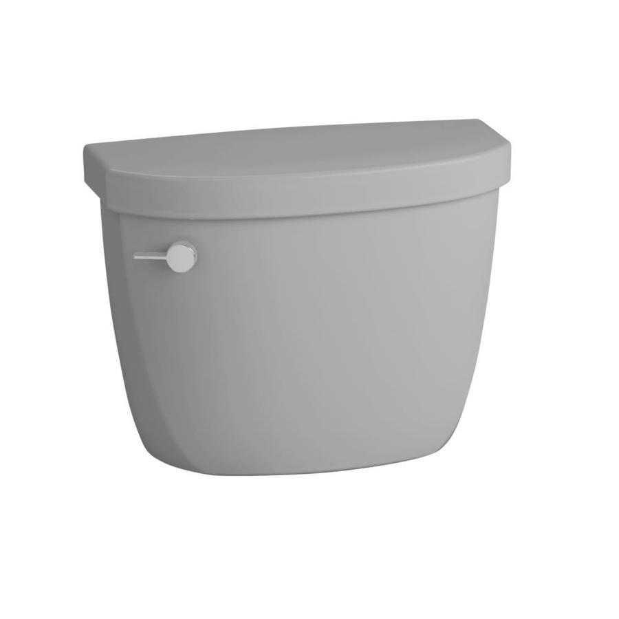 KOHLER Cimarron Ice Grey 1.6-GPF (6.06-LPF) 12-in Rough-In Single-Flush Toilet Tank