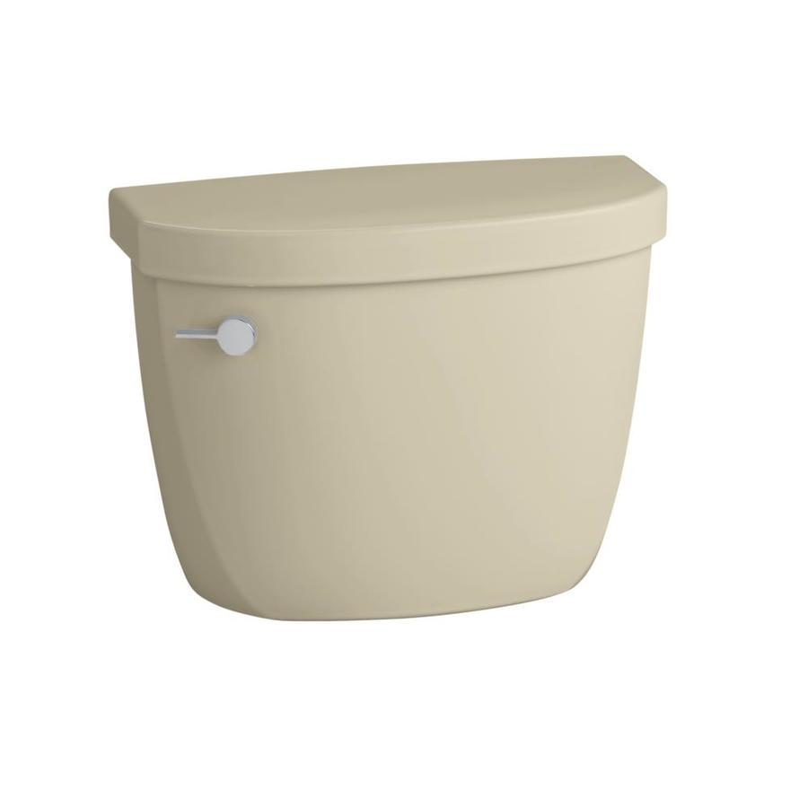 KOHLER Cimarron Almond 1.6-GFP (6.06-LPF) 12-in Rough-in Single-Flush Toilet Tank
