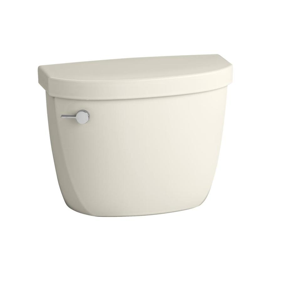 KOHLER Cimarron Biscuit 1.6-GFP (6.06-LPF) 12-in Rough-in Single-Flush Toilet Tank