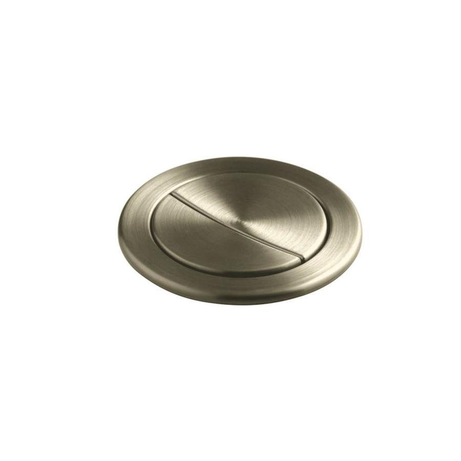 KOHLER Vibrant Brushed Nickel Metal Flush Actuator