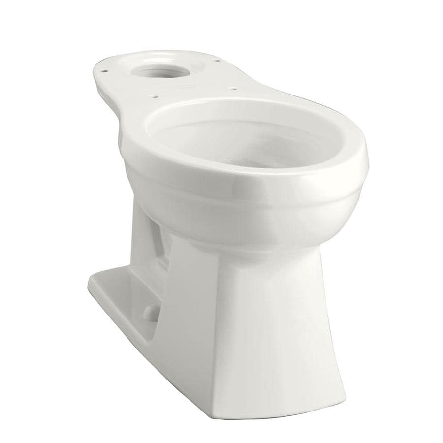 KOHLER Kelston Chair Height White 12-in Rough-In Elongated Toilet Bowl