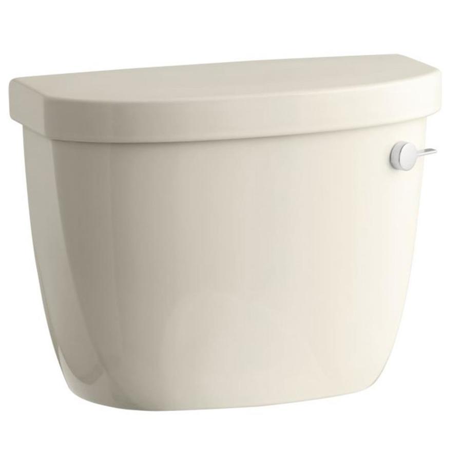 KOHLER Cimarron Almond 1.6-GPF (6.06-LPF) 12 Rough-In Single-Flush High-Efficiency Toilet Tank
