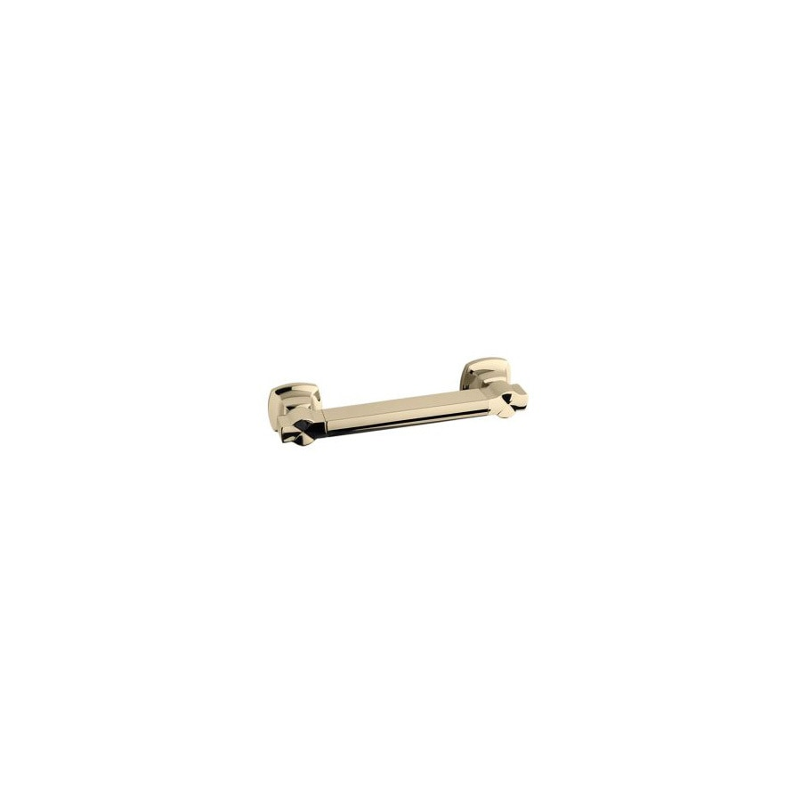 KOHLER 14.5625-in Vibrant French Gold Wall Mount Grab Bar