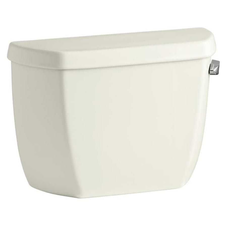 KOHLER Wellworth Biscuit 1.28-GPF (4.85-LPF) 12 Rough-In Single-Flush High-Efficiency Toilet Tank