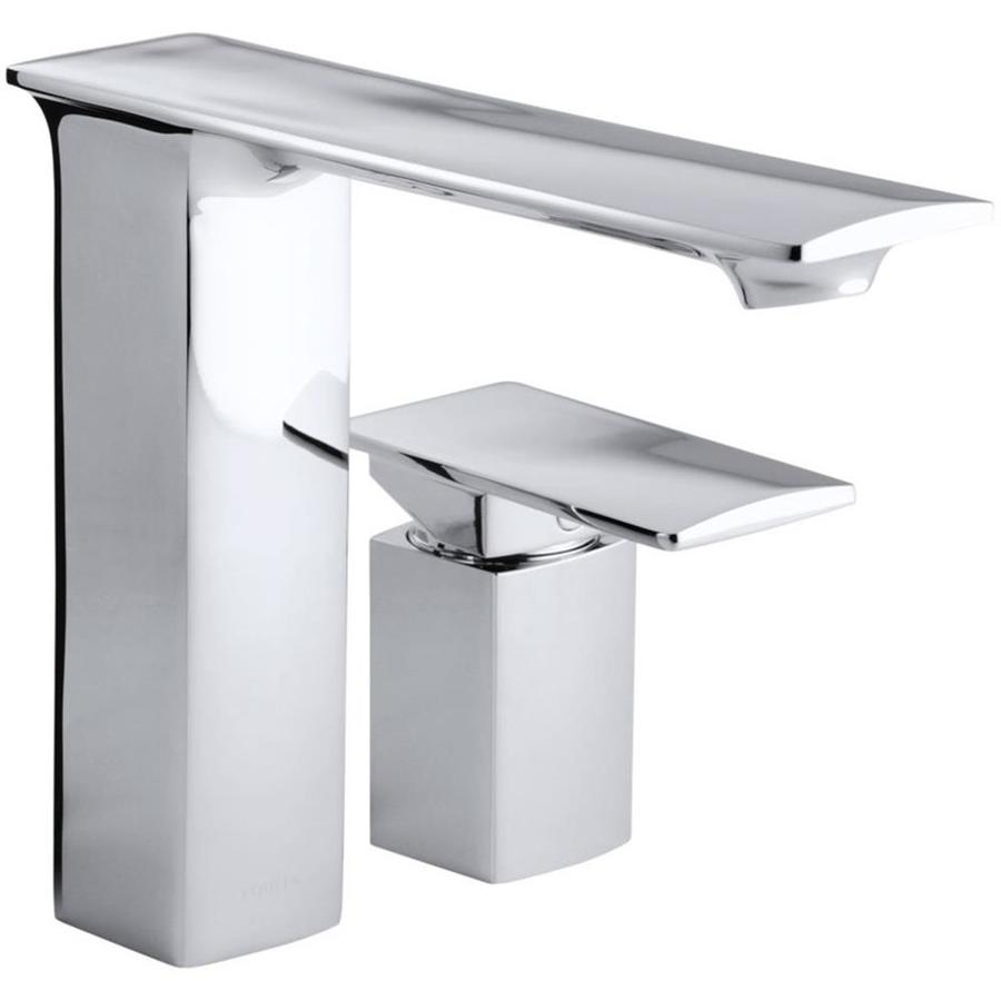 KOHLER Stance Polished Chrome 1-Handle 2-Hole Bathroom Faucet