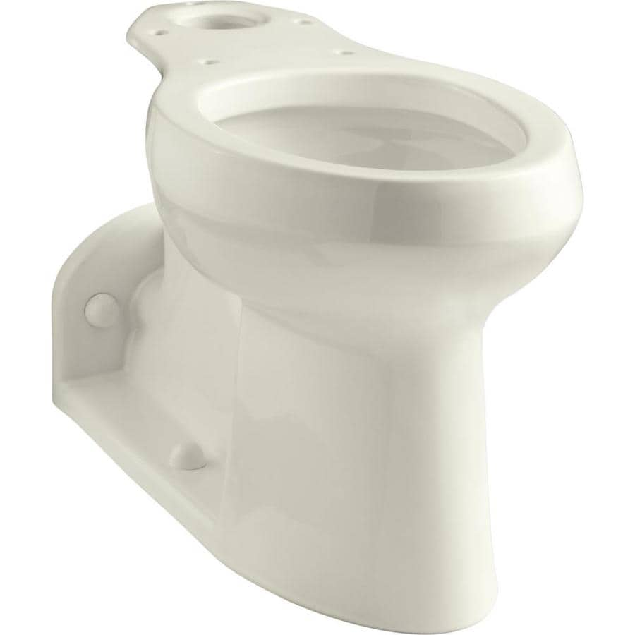 KOHLER Barrington Chair Height Biscuit 4.5-in Rough-In Pressure Assist Elongated Toilet Bowl