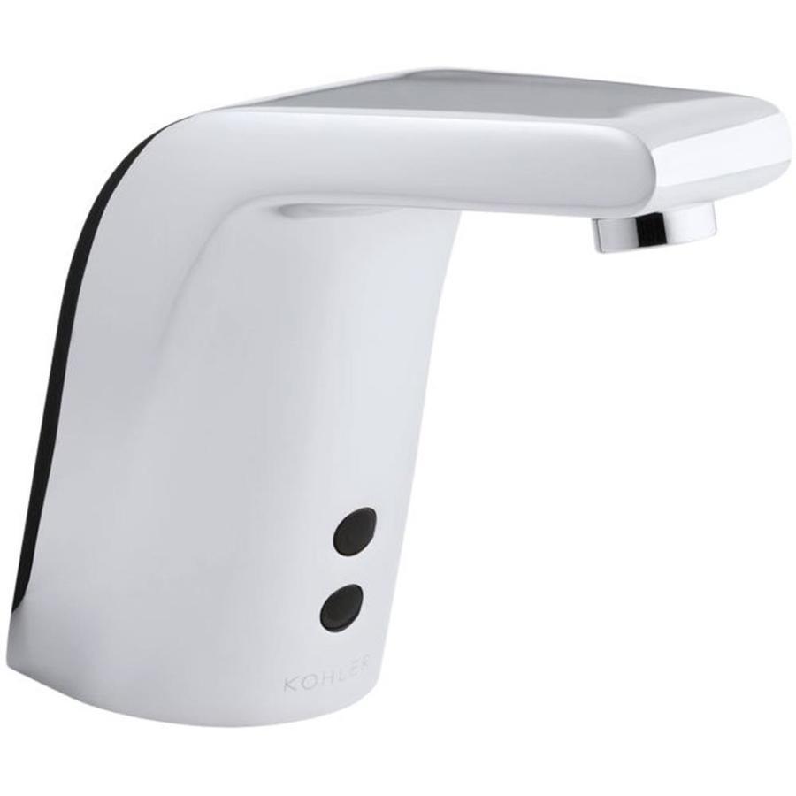 KOHLER Polished Chrome Touchless Single Hole Bathroom Faucet