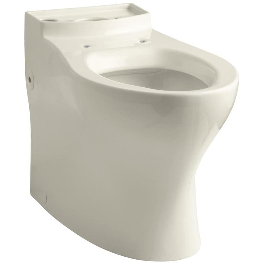 KOHLER Persuade Chair Height Almond 12-in Rough-In Elongated Toilet Bowl