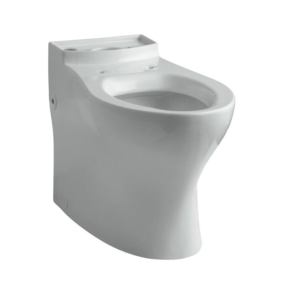 KOHLER Persuade Chair Height Ice Grey Toilet Bowl