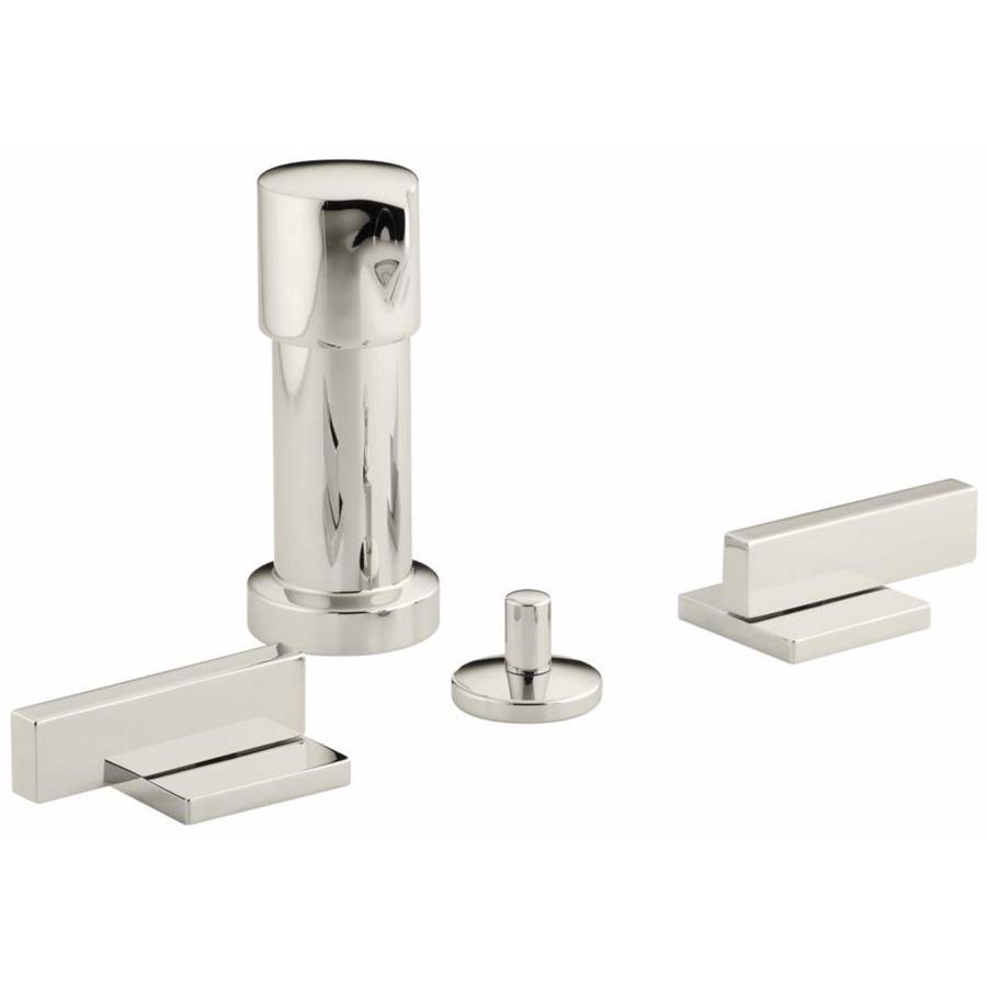 KOHLER Loure Vibrant Polished Nickel Vertical Spray Bidet Faucet