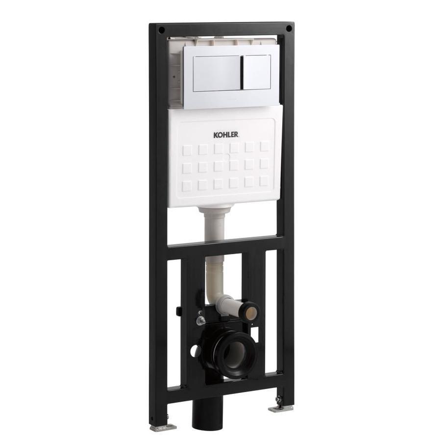 KOHLER Veil 1.6; 0.8-GPF Wall-Hung Rough-In Dual-Flush High-Efficiency Toilet Tank