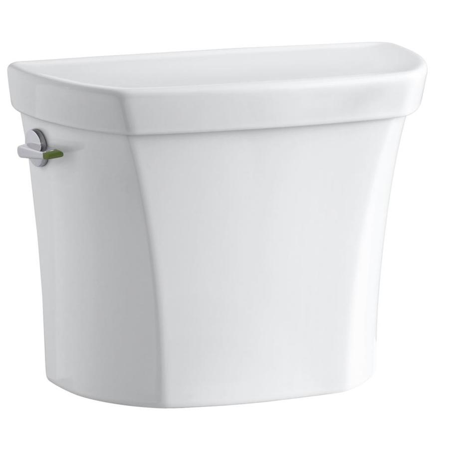 KOHLER Wellworth Almond 1.6-GPF (6.06-LPF) 12 Rough-In Single-Flush High-Efficiency Toilet Tank