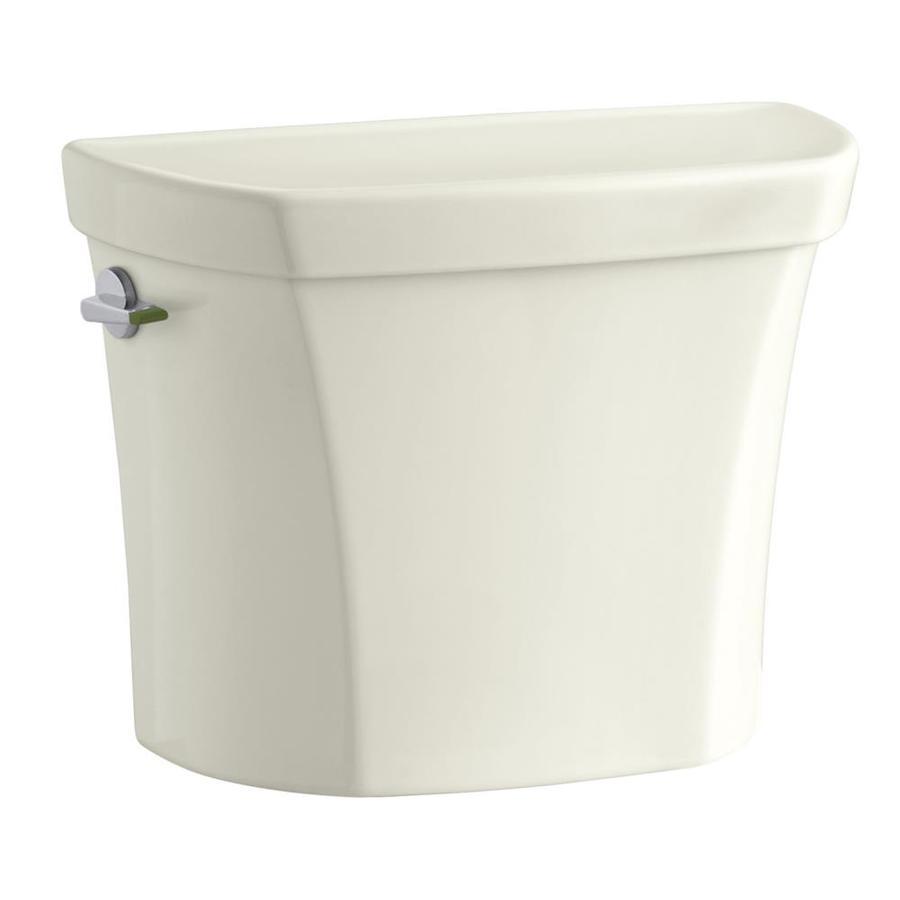 KOHLER Wellworth Biscuit 1.6-GPF (6.06-LPF) 12 Rough-In Single-Flush High-Efficiency Toilet Tank