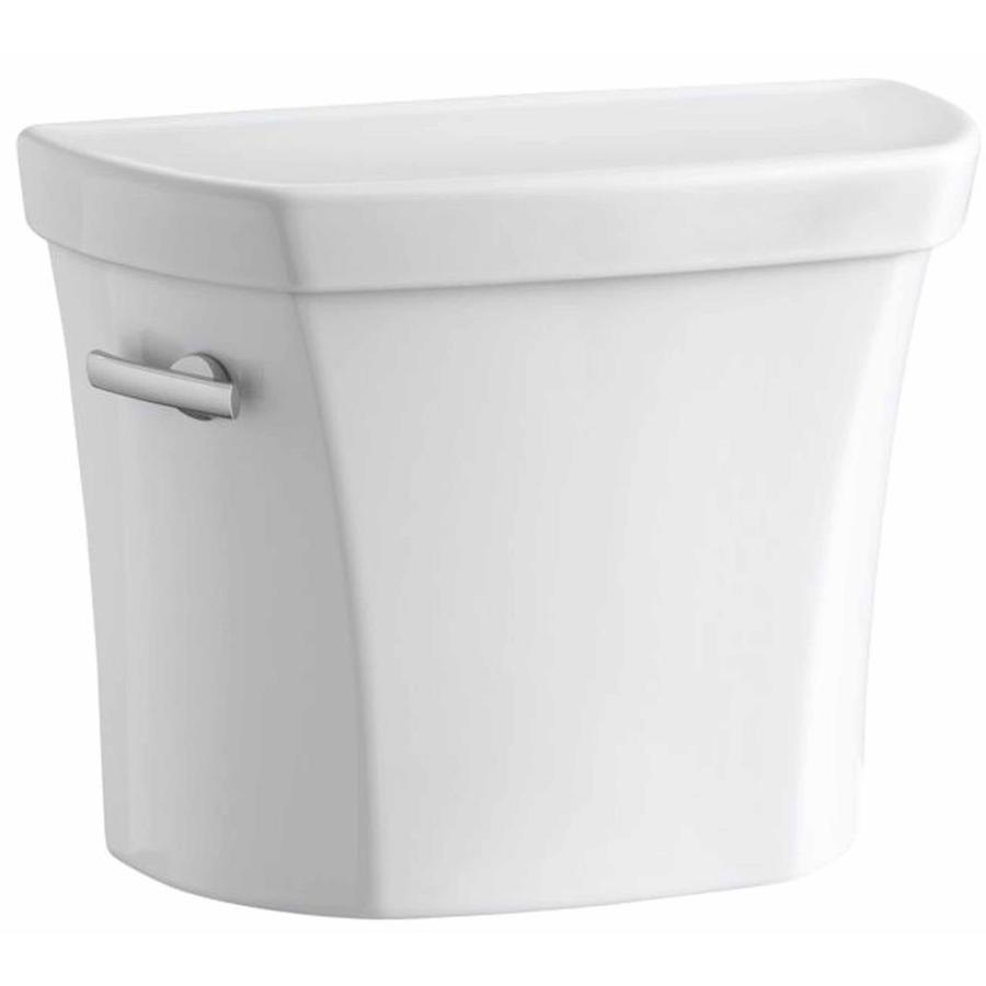 KOHLER Wellworth White 1.28-GPF (4.85-LPF) 12 Rough-In Single-Flush High-Efficiency Toilet Tank