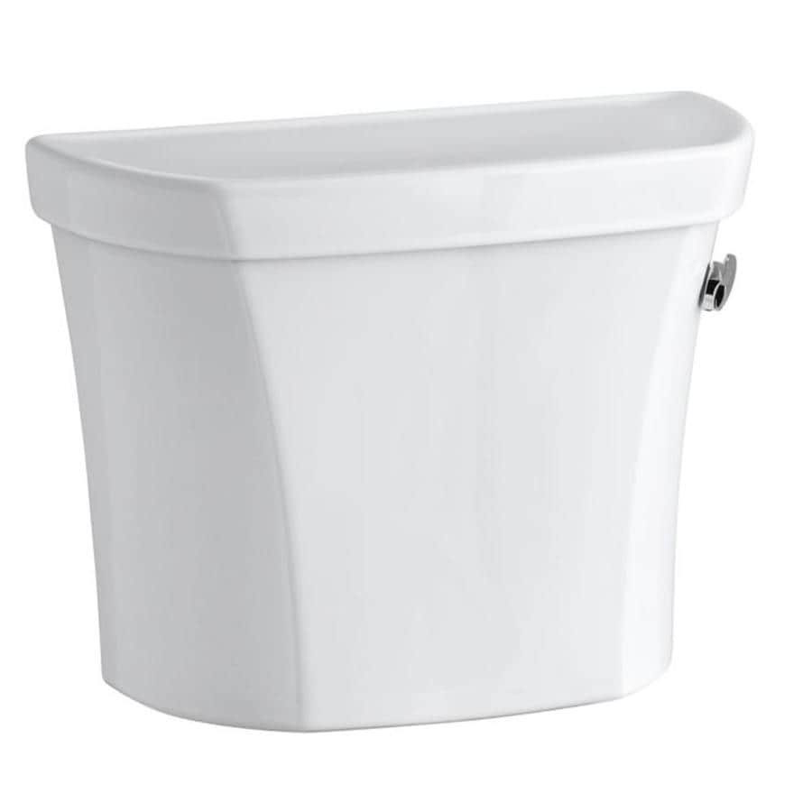 KOHLER Wellworth White 1.28-GPF (4.85-LPF) 12-in Rough-in Single-Flush High-Efficiency Toilet Tank