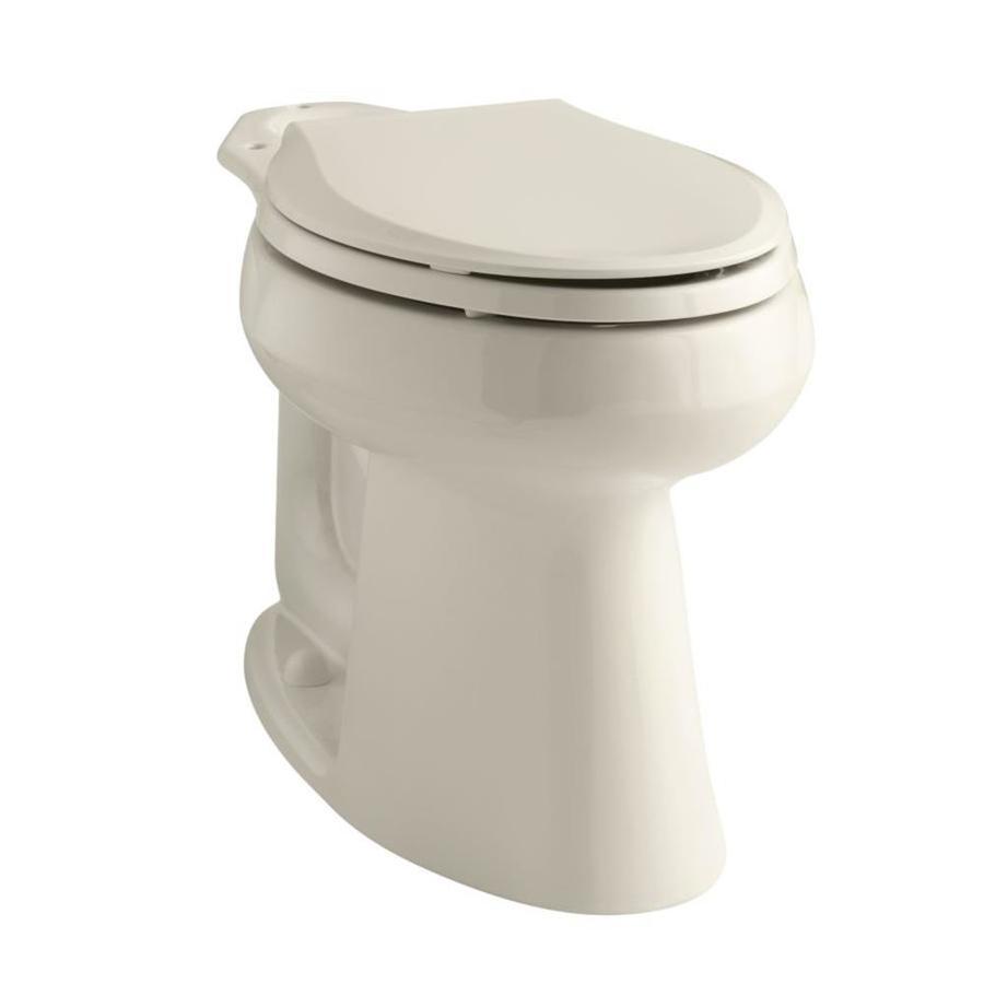 KOHLER Highline Chair Height Almond 10 Rough-In Elongated Toilet Bowl