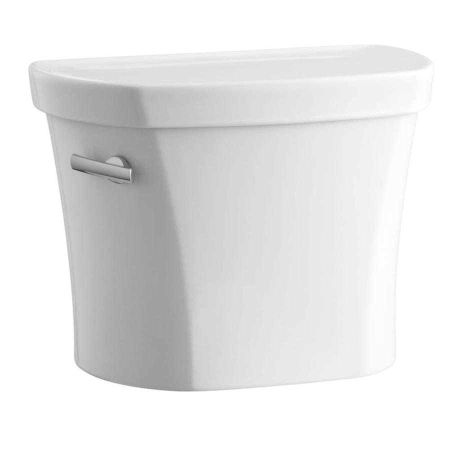 KOHLER Wellworth White 1.28-GPF (4.85-LPF) 14 Rough-In Single-Flush High-Efficiency Toilet Tank