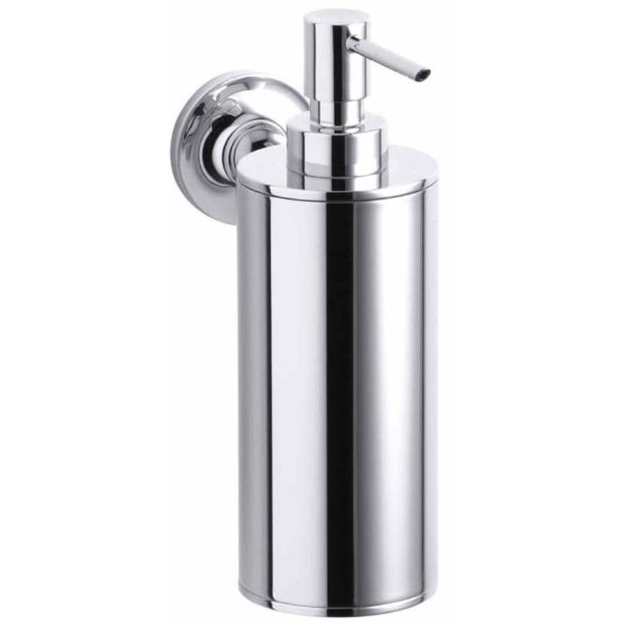 Shop Kohler Purist Polished Chrome Soap And Lotion Dispenser At