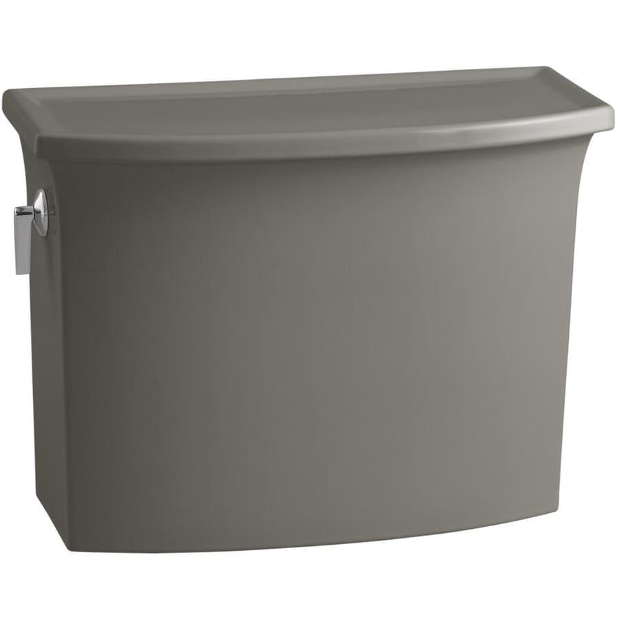 KOHLER Archer Cashmere 1.28-GPF (4.85-LPF) 12-in Rough-In Single-Flush High-Efficiency Toilet Tank
