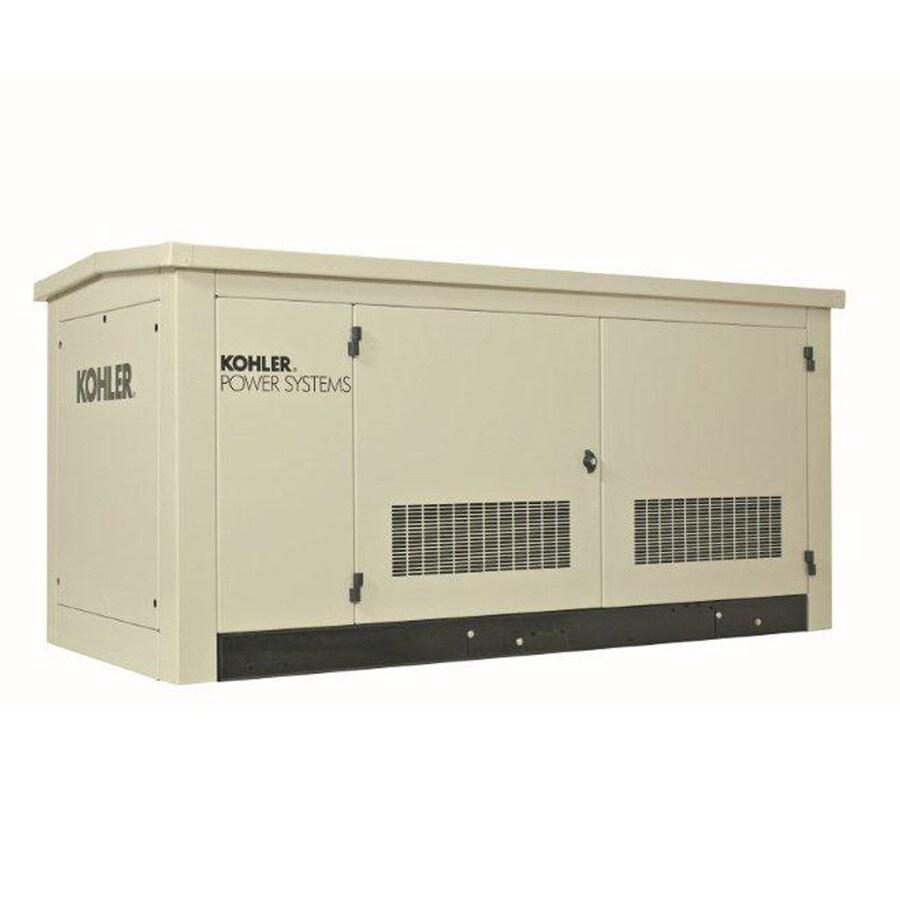 KOHLER 30,000-Watt (LP)/27,000-Watt (NG) Standby Generator with Kohler Engine