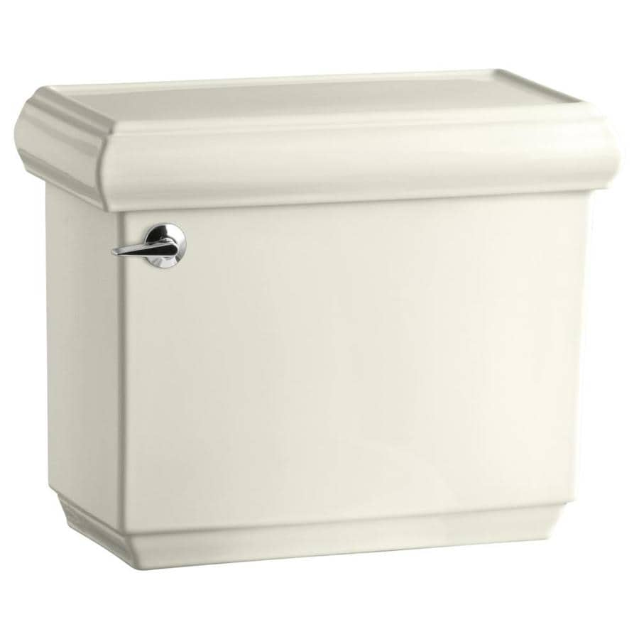 KOHLER Memoirs Biscuit 1.28-GPF (4.85-LPF) 12-in Rough-In Single-Flush High-Efficiency Toilet Tank
