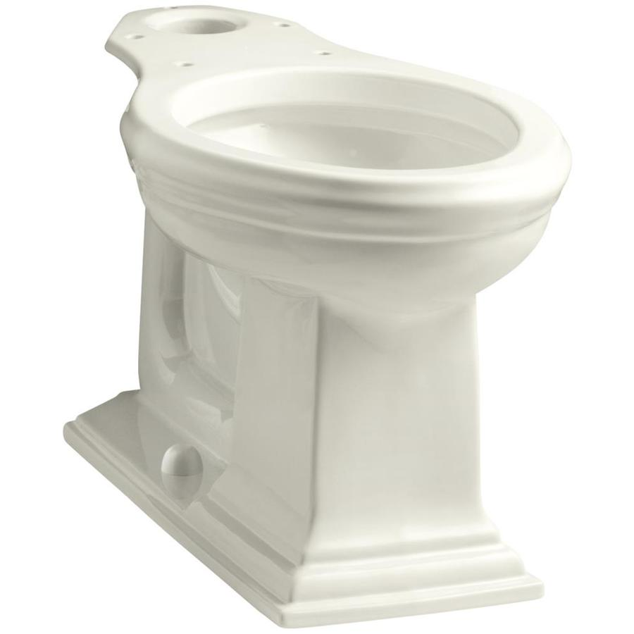 KOHLER Memoirs Chair Height Biscuit 12-in Rough-In Elongated Toilet Bowl