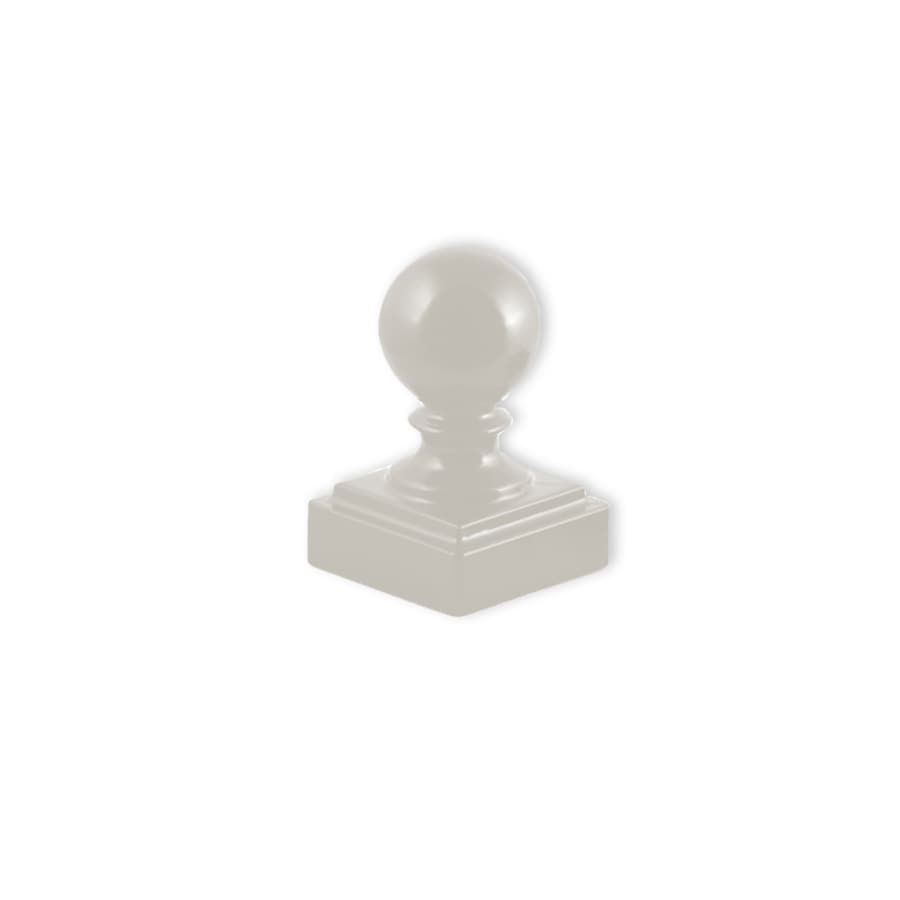 Ironcraft White Aluminum Fence Post Cap (Fits Common Post Measurement: 2-in x 2-in; Actual: 2-in x 2-in)