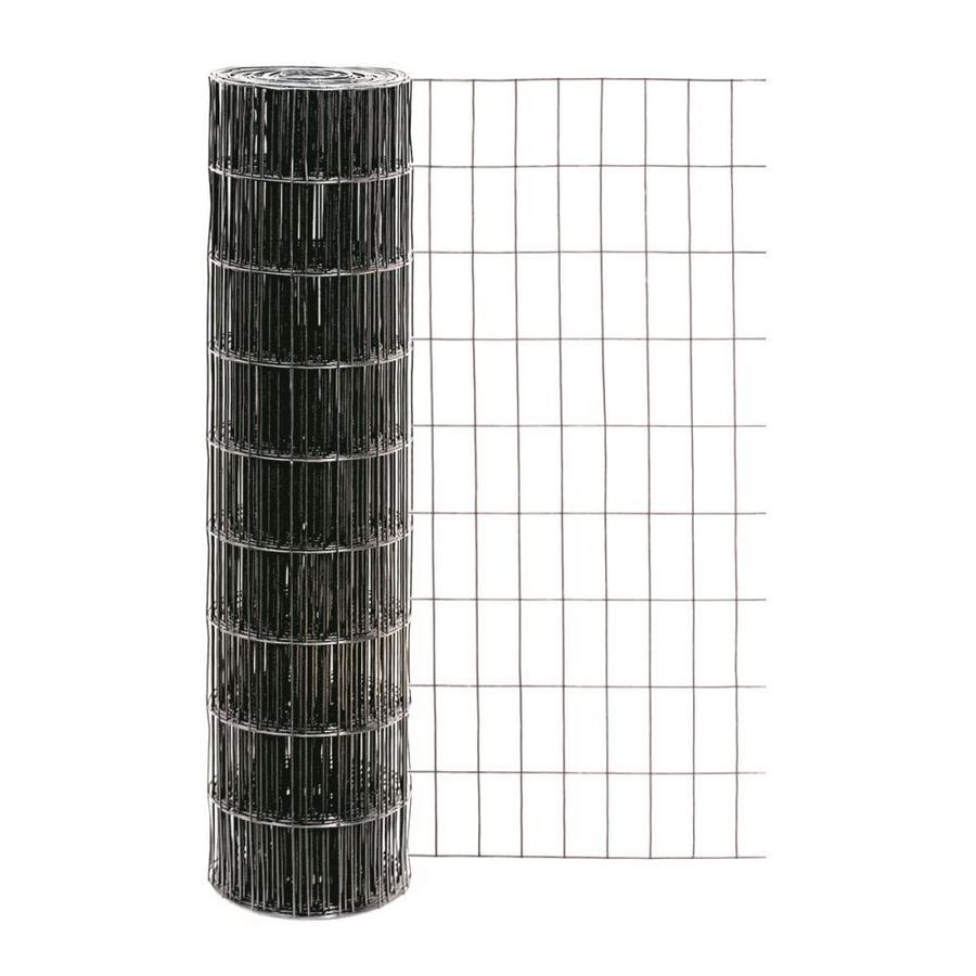 Garden Zone Black PVC Coated Steel Welded Wire (Common: 50-ft x 3-ft; Actual: 50-ft x 3-ft)