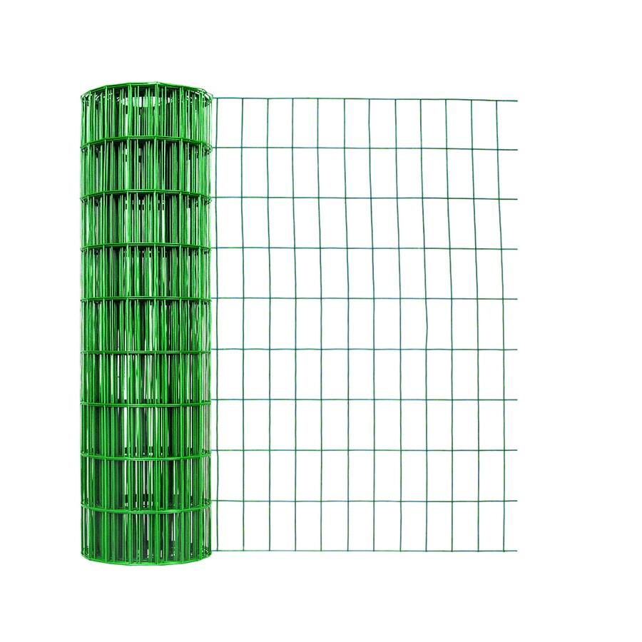 Garden Zone Green PVC Coated Steel Welded Wire (Common: 50-ft x 3-ft; Actual: 50-ft x 3-ft)