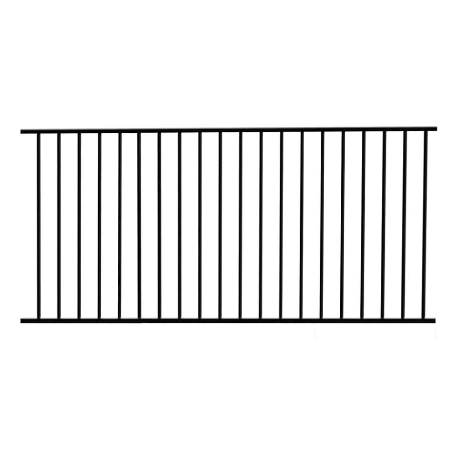 Garden Zone Powder-Coated Steel Decorative Metal Fence Panel