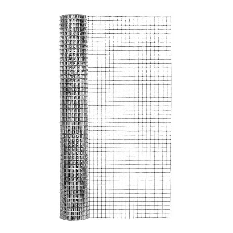 Blue Hawk Rolled Wire Galvanized Steel Hardware Cloth (Common: 10-ft x 2-ft; Actual: 10-ft x 2-ft)