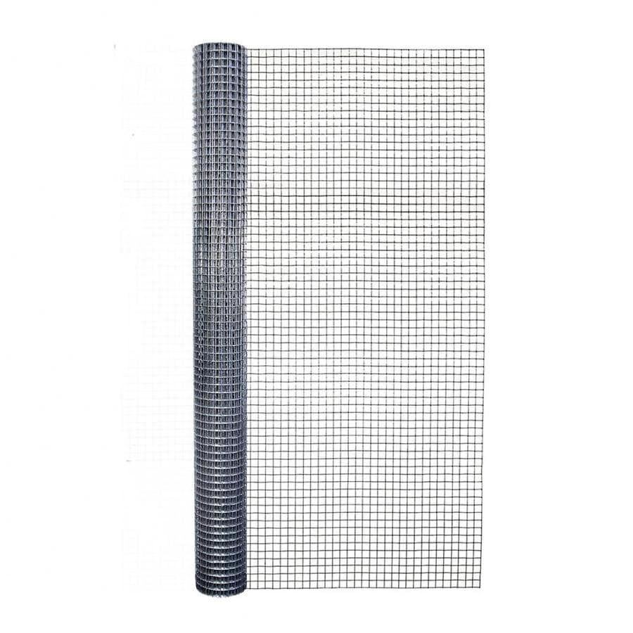Shop Blue Hawk Rolled Wire Galvanized Steel Hardware Cloth