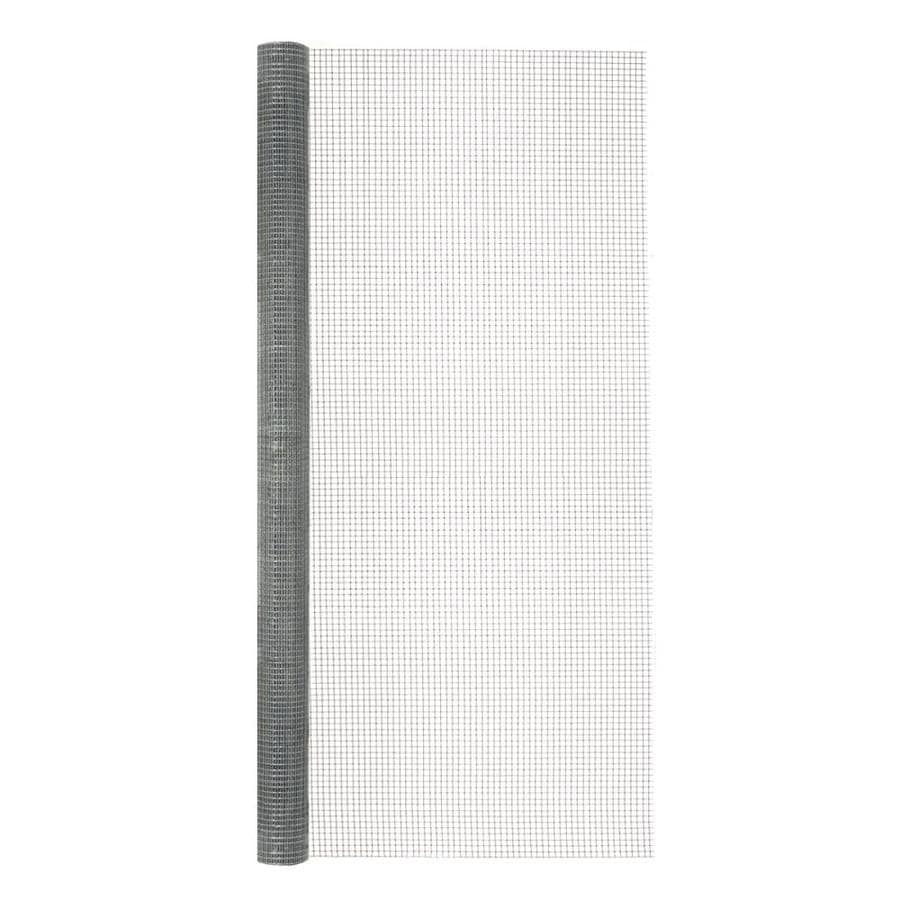 Blue Hawk Rolled Wire Galvanized Steel Hardware Cloth (Common: 5-ft x 3-ft; Actual: 5-ft x 3-ft)