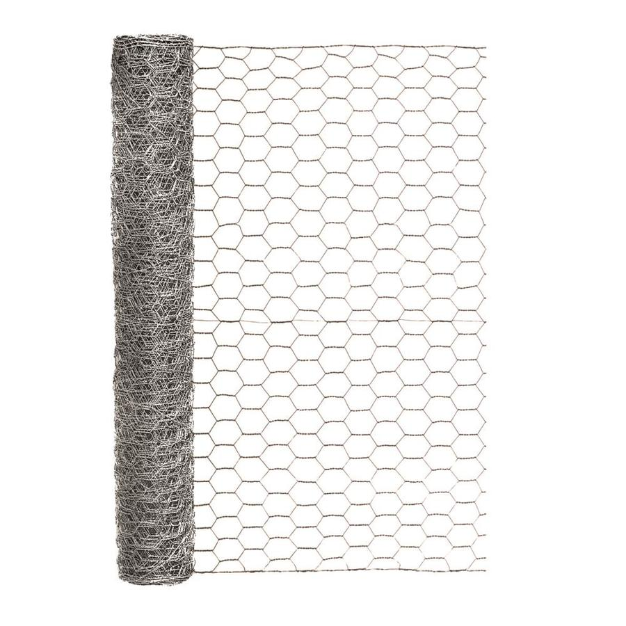 Blue Hawk Rolled Wire Galvanized Steel Poultry Netting (Common: 25-ft x 2-ft; Actual: 25-ft x 2-ft)