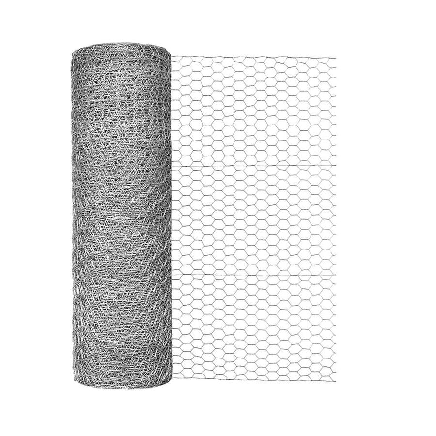 Blue Hawk Rolled Wire Galvanized Steel Poultry Netting (Common: 150-ft x 2-ft; Actual: 150-ft x 2-ft)