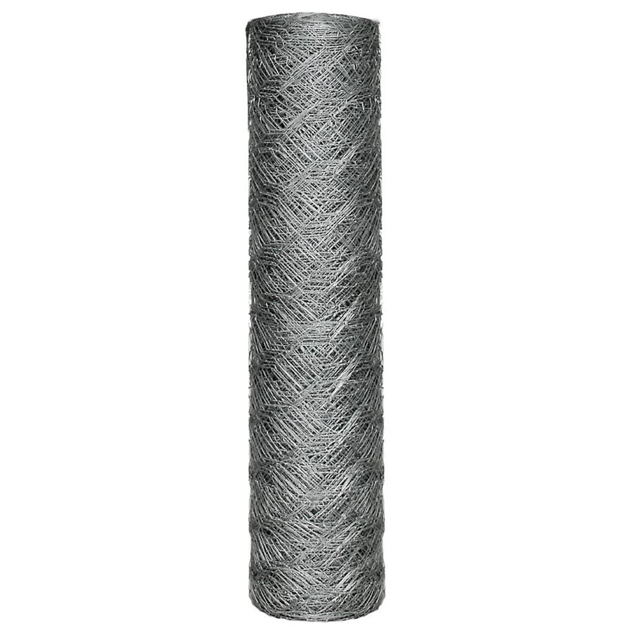 Blue Hawk Rolled Wire Galvanized Metal Poultry Netting (Common: 150-ft x 2-ft; Actual: 150-ft x 2-ft)