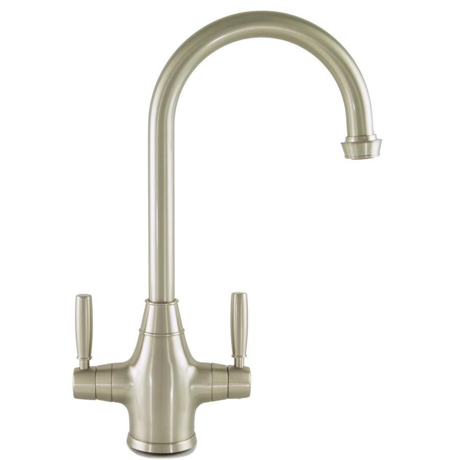 Mico Designs Churchill Satin Nickel 2-Handle Bar and Prep Faucet