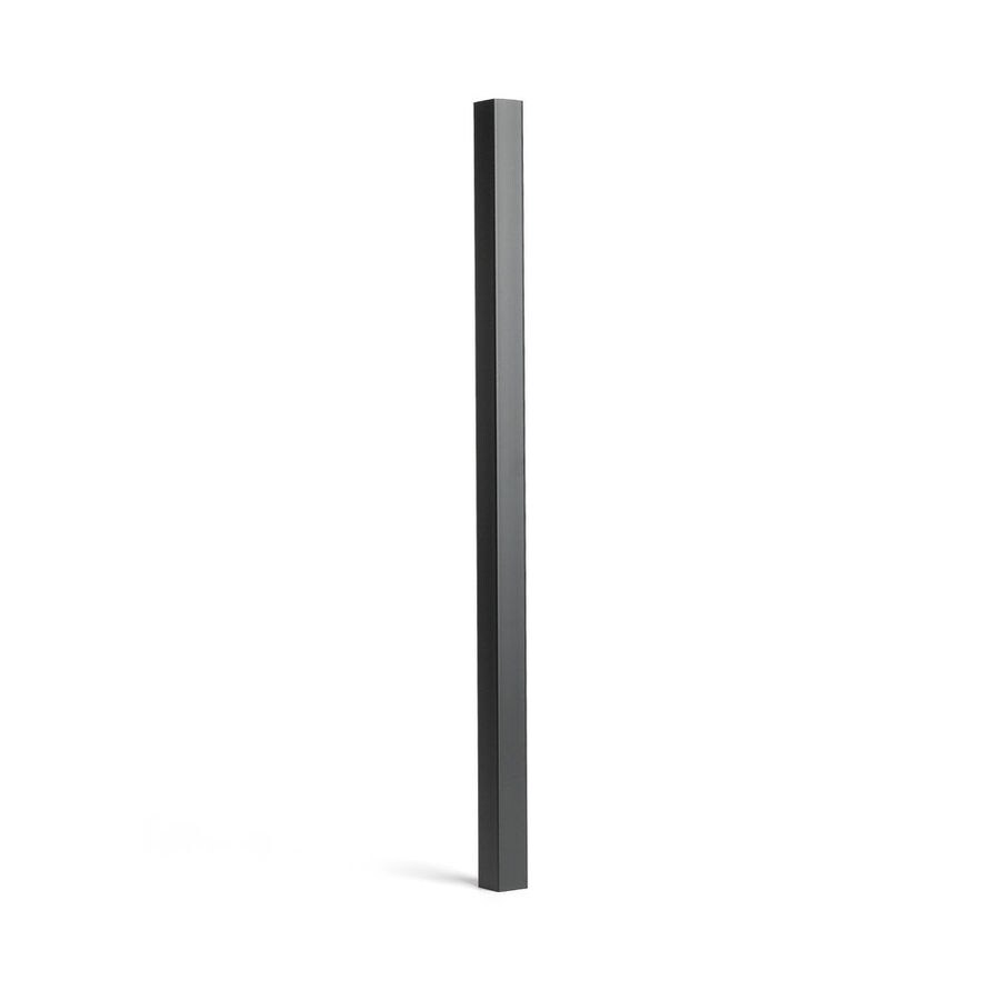 Trex Transcend Charcoal Black Composite Deck Baluster (Common: 2-in x 2-in x 36-in; Actual: 1.418-in x 1.418-in x 37-in)