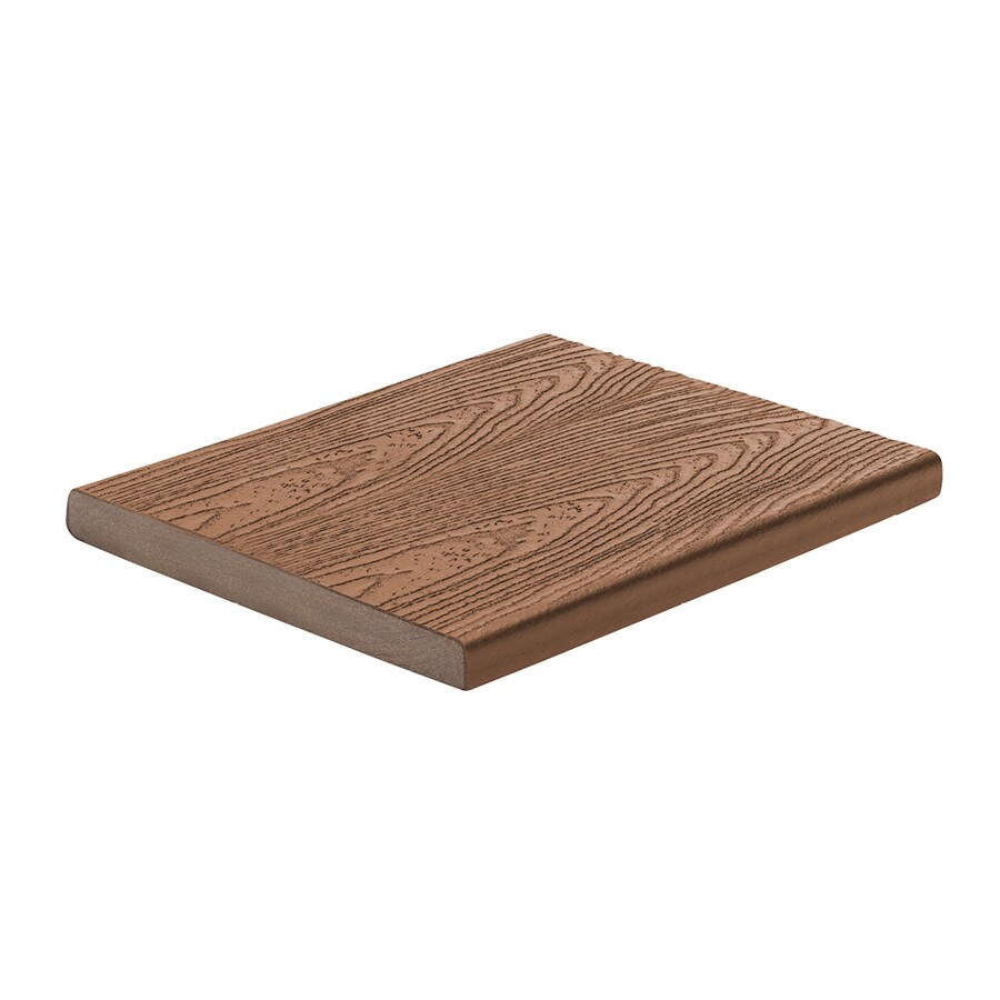 Trex Transcend Tree House Composite Deck Board (Actual: 0.7-in x 7.25-in x 12-ft)