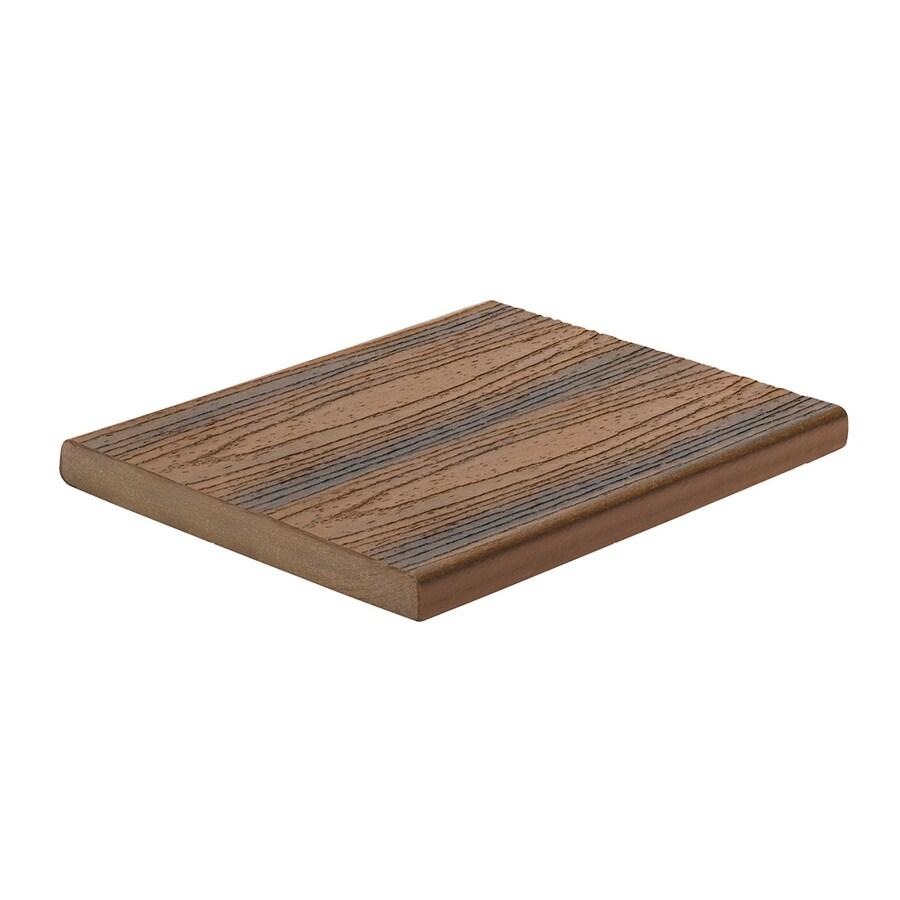 Trex Transcend Spiced Rum Composite Deck Board (Actual: 0.7-in x 7.25-in x 12-ft)