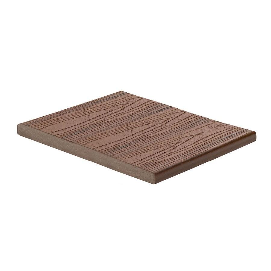 Trex Transcend Lava Rock Composite Deck Board (Actual: 0.7-in x 11.375-in x 12-ft)