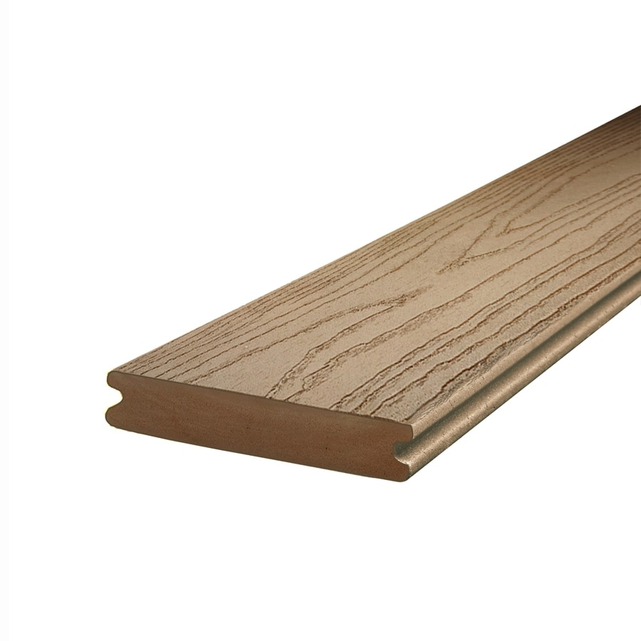 Shop Trex Composite Deck Board Actual 1 In X 5 5 In At