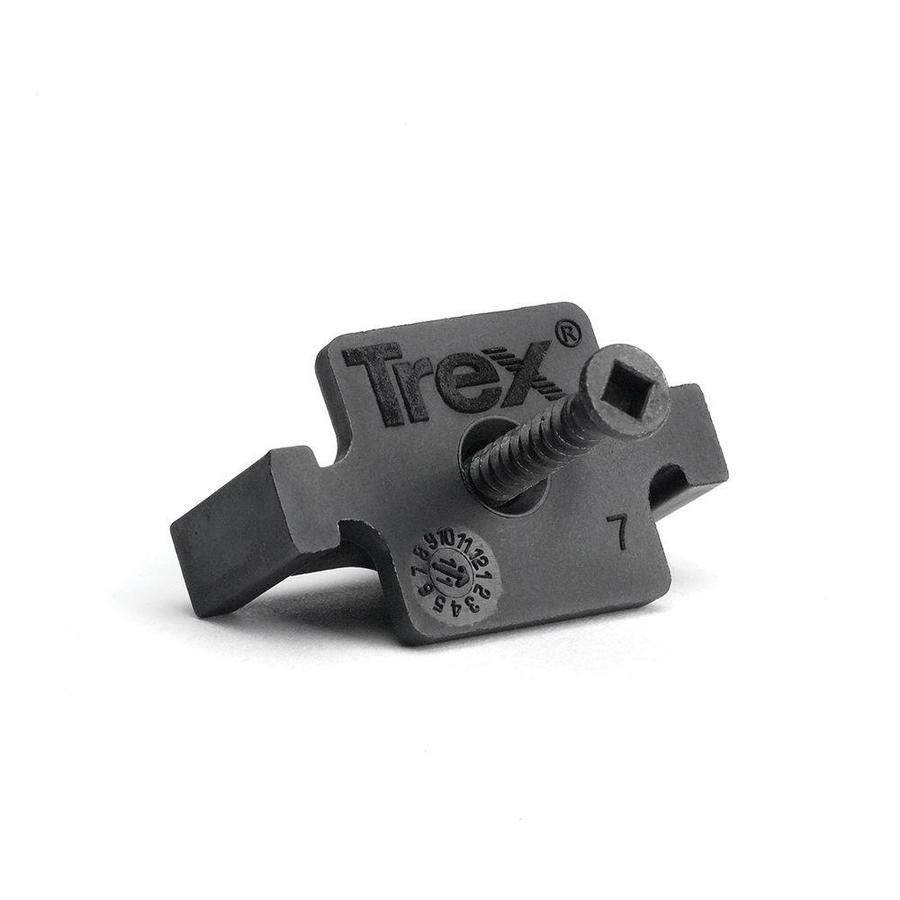 Trex Elevations Black Stainless Steel Line Connector