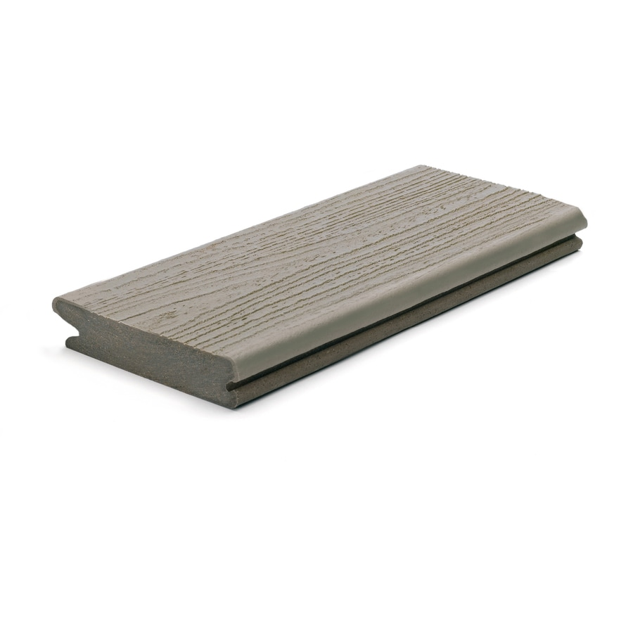 Trex Porch Gravel Path Composite Deck Board (Actual: 0.94-in x 4.25-in x 12-ft)