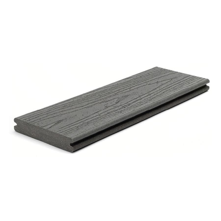 Trex Enhance Clam Shell Groove Composite Deck Board (Actual: 0.94-in x 5.5-in x 16-ft)