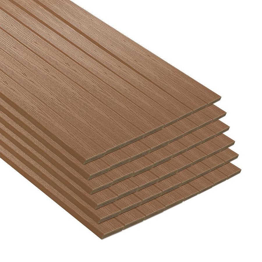 Trex Enhance Beach Dune Composite Deck Board (Actual: 8.625-in x 44-in x 12-ft)