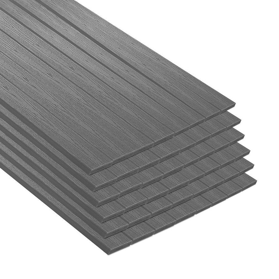 Trex Enhance Clam Shell Composite Deck Board (Actual: 8.625-in x 44-in x 12-ft)