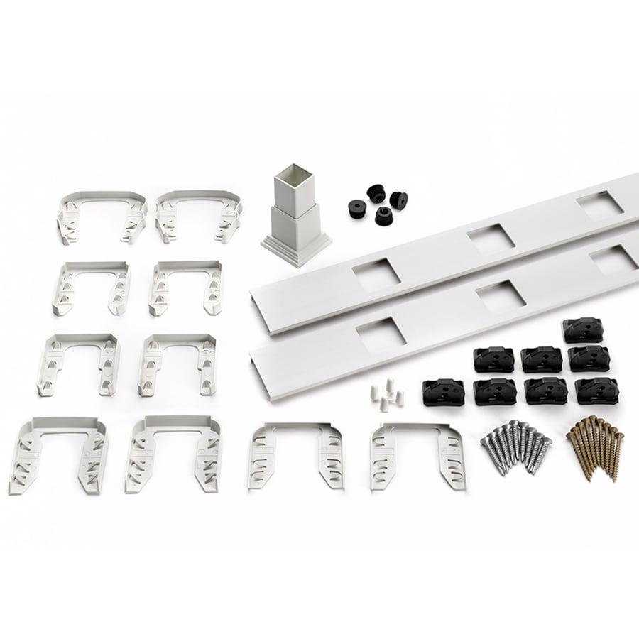 Trex Transcend 4-Pack Classic White Composite Deck Railing Kit (Assembled: 5.625-ft x 3-ft)